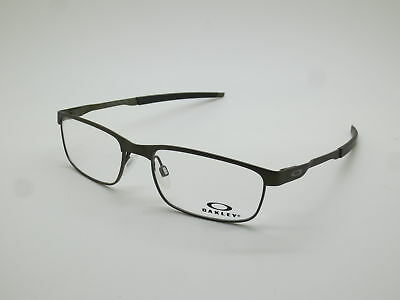 167d72978e6 NEW Authentic OAKLEY STEEL PLATE OX3222-0454 Powder Pewter 54mm Rx  Eyeglasses