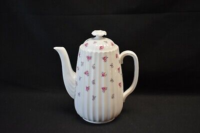 Spode England Bone China Dimity Y5764 Coffee Pot with Lid
