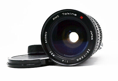 【EXC+++】Tokina 28-70mm f4 RMC Lens Nikon AI w/ caps from Japan * Free Shipping *