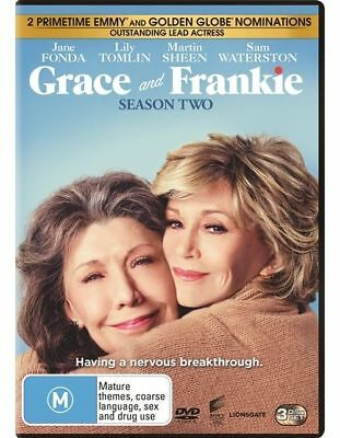 Grace And Frankie : Season 2 DVD : NEW