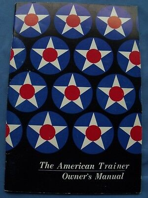 American Trainer Owner's Manual American Aviation Corporation 1972
