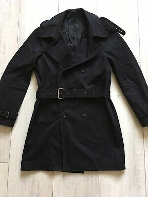 2fce02a1628 THE KOOPLES TRENCH Coat / Black / Size 46 (Small) - £72.00 | PicClick UK
