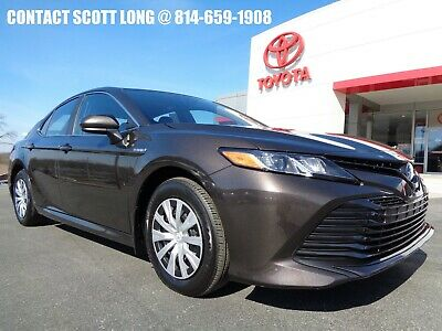 2019 Toyota Camry Certified 2019 Camry LE Hybrid Brownstone Toyota Certified 2019 Camry Hybrid LE Brownstone Paint Only 4137 Miles Like New
