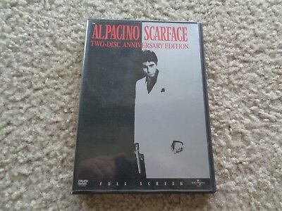 Scarface Al Pacino Two Disc Anniversary Edition