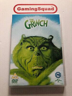 The Grinch DVD, Supplied by Gaming Squad