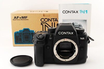 【TOP MINT in BOX】 Contax N1 35mm SLR Film Camera Body Only From Japan #310996