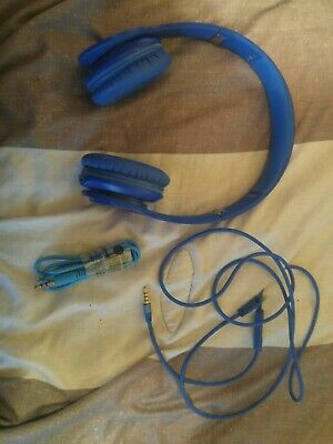 Beats by Dr. Dre Solo HD Wired  Headphones -  Blue - Used
