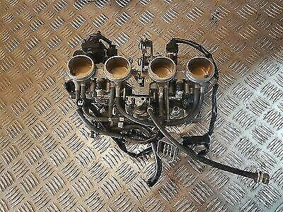 Yamaha Fazer 1000 Fz1 S Abs 2007 Throttle Bodies And Injectors Working