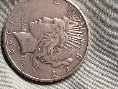 Early - 1922-S - Peace Silver Dollar - 90% US Coin *660