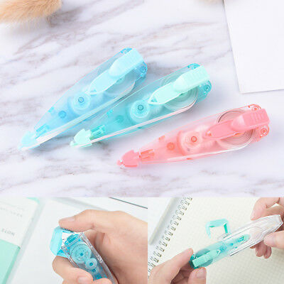 Colorful Roller 6M White Out Correction Tape School Office Study Stationery A-L