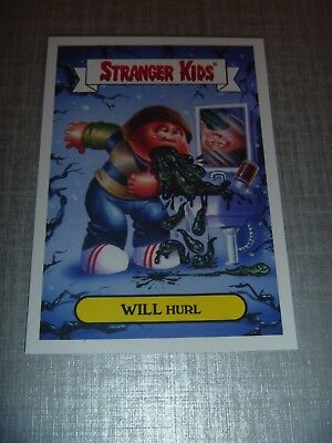 Gpk - Garbage Pail Kids / Stranger Kids (Things) Will Hurl 1A Limited Edition