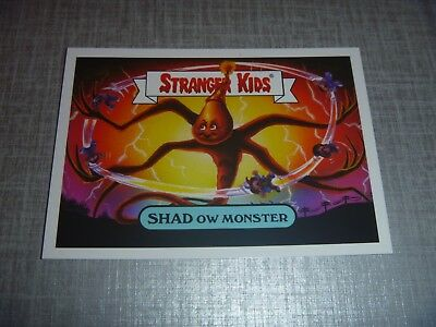 Gpk - Garbage Pail Kids / Stranger Kids Shad Ow Monster 19A Limited Edition