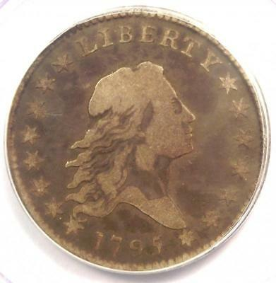1795 Flowing Hair Half Dollar 50C Coin - Certified PCGS F15 - $2,750 Value!