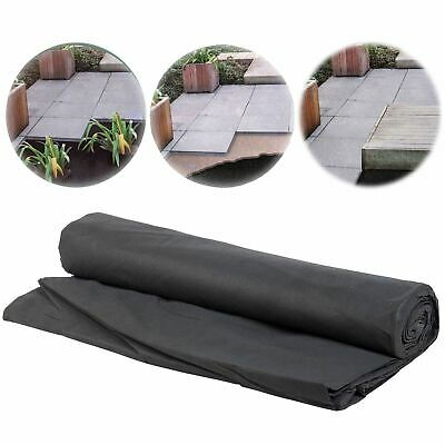 Heavy Duty Weed Control Fabric Ground Cover Sheet Membrane Garden Land New