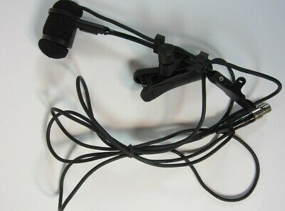 Audio Technica PRO35CW Cardioid Condenser Clip-on Instrument Microphone With Bag
