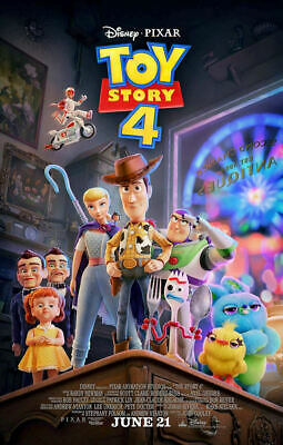"Toy Story 4 ( 11"" x 17"" ) Movie  Collector's  Poster Print  - B2G1F"