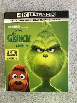 Illumination Presents: Dr. Seuss' The Grinch 4K Ultra HD + Blu-ray + Digital