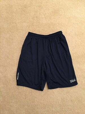 Polo Sport Ralph Lauren Shorts Performance Thermovent Athletic Navy, Size: Large