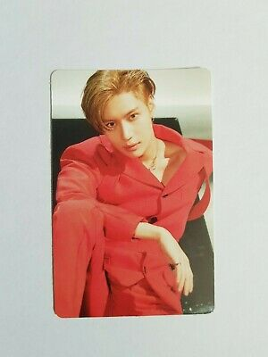 "K-POP SHINee Taemin 2nd Concert ""WANT"" Official Limited Photocard"