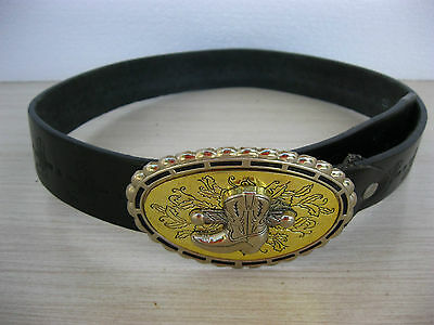 Vintage Western Cowboy Boot Metal Belt Buckle