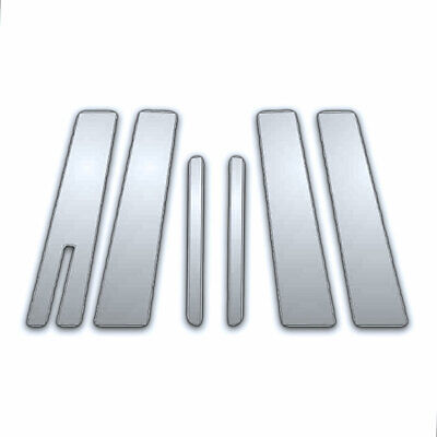 6Pc Chrome Pillar Side Covers for 2010-2016 Lincoln Mkt