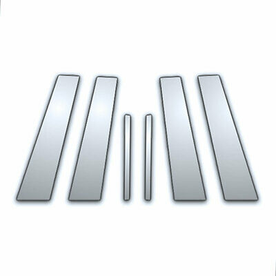 6Pc Chrome Pillar Side Covers for 05-09 Buick Lacrosse