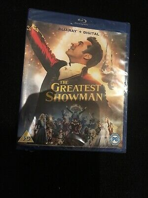 The Greatest Showman Blu Ray plus Sing Along (DVD, 2017) BNIP