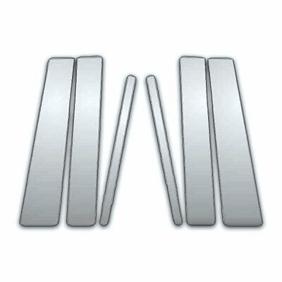 6 Pc Chrome Pillar Side Covers For 00-03 Nissan Maxima