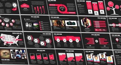 Professional PowerPoint Template - Fully Editable - 228 Unique Slides 16:9 & 4:3