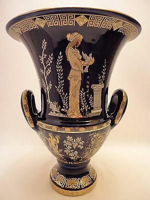 Gods Daphne Apollo Dionysus Aphrodite Rare Ancient Greek Art Pottery Vase Krater