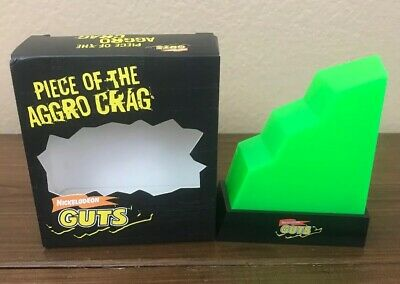 Nick Box Winter 2016 GUTS Piece Of The Aggro Crag RARE Nickelodeon Do U Have it?