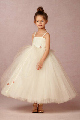 a548c8185bf BHLDN AMALEE AMORET Flower Girl Tulle Ball Gown Dress - Sz 10 ...