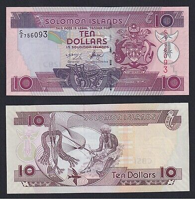 Isole Solomone / Solomon Islands - 10 dollars 1996 FDS/UNC  B-10