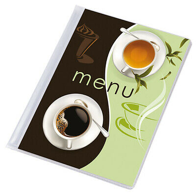 SALE !! 10 X MENU COVER A5 presenter 12 pages pub folder cafe holder restaurant