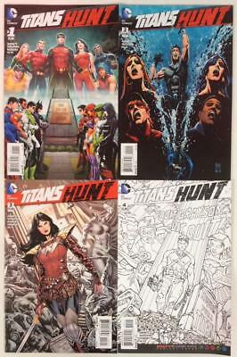 Titans Hunt #1 to #4 (DC 2015) 4 x issues.