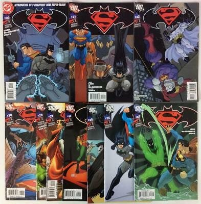 Superman Batman #20 to #30 (1 missing) (DC 2005) 10 x high grade issues