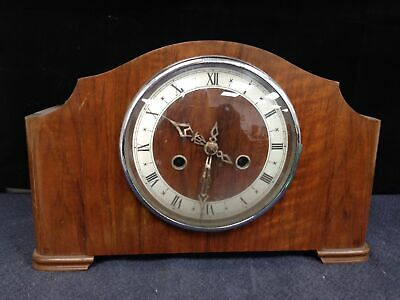 Vintage Enfield 8 Day Art Deco Striking Clock Needs Attention /tlc#117