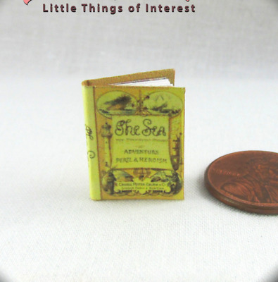 Dollhouse Miniature 1:24 Scale Hop On Pop Book by Cindi/'s Mini/'s