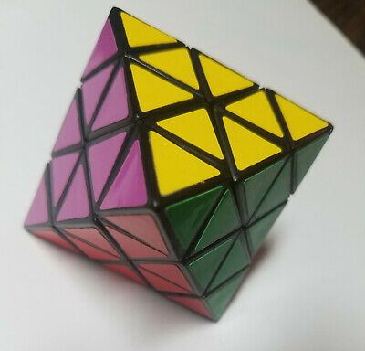 VINTAGE MAGIC OCTAHEDRON 8 Sided Twisty Puzzle (PG Continental)
