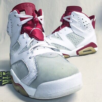 best service dc8e6 f99de Air Jordan Retro 6 Hare size 8.5 Alternate Varsity Infrared Carmine Maroon  White