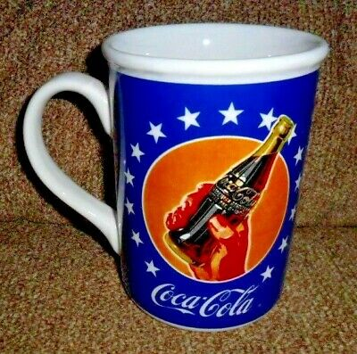 Coca-Cola Brand Dinnerware & Mugs marketed by Gibson Patriotic Stars & Stripes