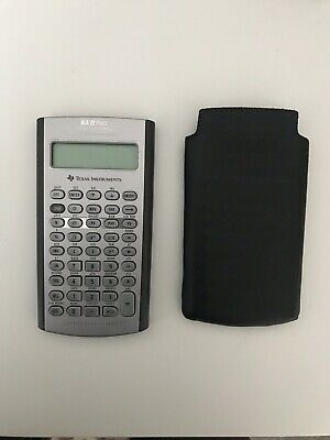 Texas Instruments BA 2 (II) Plus Financial Calculator Professional NEVER USED