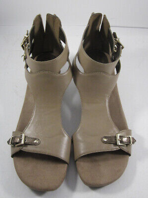 1017ce32908c Aerosoles Women s Taupe Yet Another Gladiator Sandal 8.5