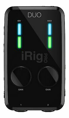 IK Multimedia iRig Pro Duo 2-Channel Audio/MIDI Interface for iPhone/iPad/MAC/PC