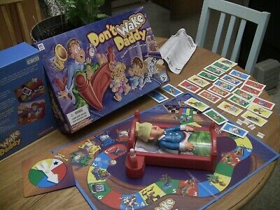 Don't Wake Daddy Board Game Milton Bradley Game 2007 100% Complete