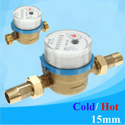 Water meter flow - cold & hot water House and Garden various connectors