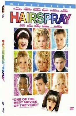 Hairspray (2007) [DVD] Good PAL Region 2