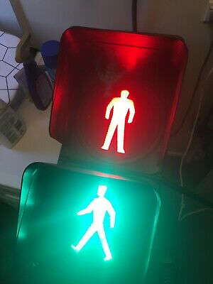 Pedestrian Man/Traffic Light/Man cave