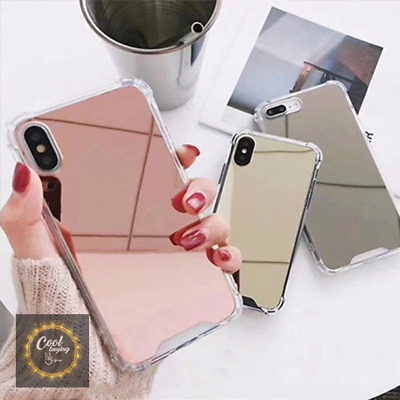 New Luxury Aluminum Ultra-thin Mirror Case Cover for Samsung Galaxy S8 S9 Note