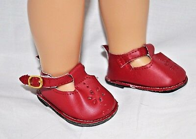 Our Generation American Girl Doll 18 Inch Dolls Clothes Red T-Bars Doll Shoes
